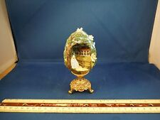 The Franklin Mint Scarlett Of Tara Egg W/24K Gold Plated Base