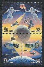 USA - MNH Block of 4 Space, 29c Joint Issue with Russia.............#2631 - 2634