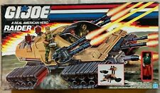 "GI Joe RAIDER TANK w/ 3.75"" HOT SEAT Action Figure Sealed Contents MIB 1988"