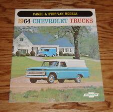 1964 Chevrolet Truck Panel & Step-Van Models Sales Brochure 64 Chevy Pickup