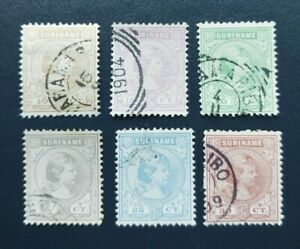 CLASSIC QUEEN SET VF USED NEDERLAND NETHERLANDS SURINAME B976.9 $0.99