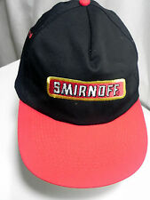 Smirnoff Vodka Snapback Cap Hat Pure Thrill Embroidered Clean Adjustable
