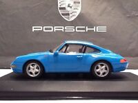 Porsche 911 993 1993 riviera blu Minichamps 1/43