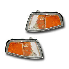 Fits 97-01 Mitsubishi Mirage SEDAN Left Right Signal Parking Light Assembly Pair