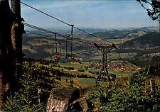 Steibis Allgäu Bayern color Postkarte neuwertig Sessellift Imbergbahn Bergbahn