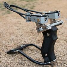 PRO Folding Wrist Sling Shot High Velocity Brace Hunting Catapult Slingshot New