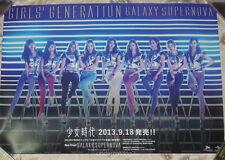 Girls' Generation GALAXY SUPERNOVA 2013 Taiwan Promo Poster (SNSD)