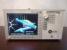 Agilent 86140B 50 GHz Optical Spectrum Analyzer with Option 006 - CALIBRATED!