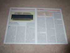 Proton D1200 Amplifier Review, 1986, 2 pgs, Full Test