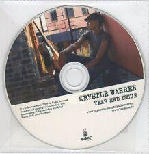 (EG75) Krystle Warren, Year End Issue - 2009 DJ CD