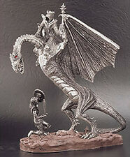 The Shieldmaiden & the Ringwraith Royal Selangor Lord of the Rings Pewter Statue
