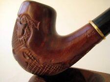 NUEVA PIPA PIPE SMOKING PARA FUMAR TABACO. PIPA VERSAL 11059A29 TALLADA.