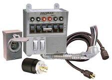 Reliance 31406CRK 30 Amp 6-circuit Pro/Tran Transfer Switch Kit for Generators *