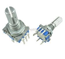 2pcs Rotary Encoder With Switch Ec11 Audio Digital Potentiometer 20mm Handle