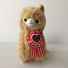 AMUSE Heartful Alpacasso Tan Boy (16cm) Valentine's Arpakasso Alpaca Plush Japan