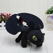 23cm Night Fury How to Train Your Dragon Toothless Plush Toys
