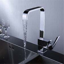 360° Schwenkbar Küchenarmatur Spültisch Wasserhahn Einhandmischer Messing Chrom