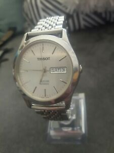 Vintage Tissot Seastar Calendar Day And Date Automatic Men's Watch.
