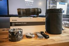 Sigma 150-600 mm F5-6.3 DG OS HSM Contemporary Canon EF Mount Lens