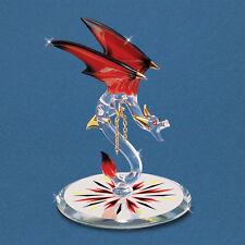 Glass Baron ~ Dragon - Dynamite ~ Red Crystal Eyes & 22kt gold trim