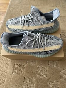 IN HAND SHIPS NOW Adidas Yeezy Boost 350 V2 Ash Blue Size 11