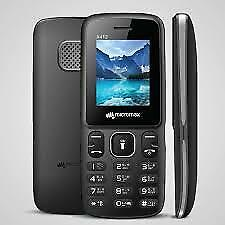 """MICROMAX X412 FEATURE CANDY BAR CELLPHONE GSM """"UNLOCKED"""""""