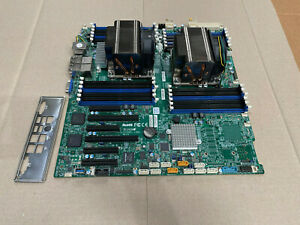 Supermicro X10DRI-LN4+ Dual 2011-3 Motherboard w/ 2x  E5-2640 V3 2.6ghz 8C