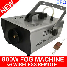 900W SMOKE FOG MACHINE SPECIAL EFFECTS DJ PARTY w/ WIRELESS REMOTE MCE-900