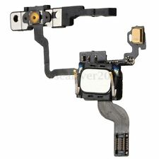Power Button Flex Cable With Ear Speaker & Bracket Replacement Part For iPhone 4