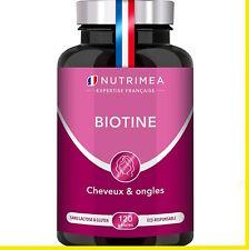 NUTRIMEA BIOTINE cheveux, ongles, peau. Pépins de Courge, Zinc et Sélénium Vegan