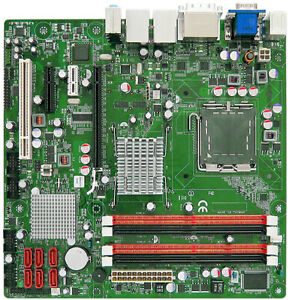 Intel Eagle Lake Core 2x DVI 6x SATA RAID PCIE x16 LGA775 Micro ATX Motherboard