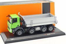 IXO - TATRA PHOENIX EURO 6 8X8 TIPPER TRUCK GREEN CAB 2016 1:43 SCALE
