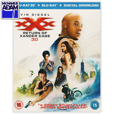 XXX: RETURN OF XANDER CAGE Blu-ray 3D + 2D (REGION-FREE)