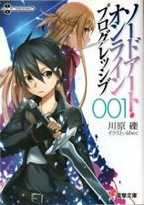Used Sword Art Online Progressive Vol.1 Japanese Light Novel Reki Kawahara SAO
