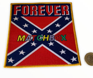 Vintage Matchbox Patch Badge 1980s Retro Cloth Badge (15