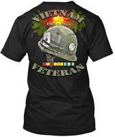 Vietnam Veterans 1964-1975 Hanes Tagless Tee T-Shirt