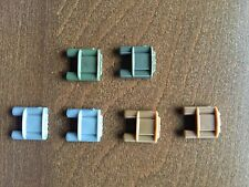 6 X Claymore Army Mine Pack compatible with toy brick minifigures