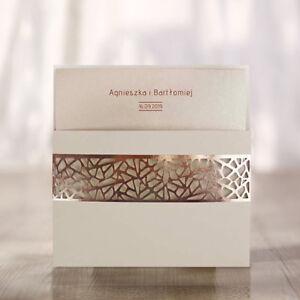 Einladungskarten Hochzeit 1455 mit Umschlag!Geburtstagskarte, Goldene Hochzeit.