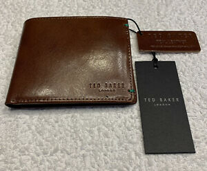 Ted Baker Bright Bifold Coin Wallet: Tan: BNWT: Boxed: RRP £55