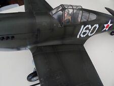 plastic plane model 1/18 scale P-40B WARHAWK