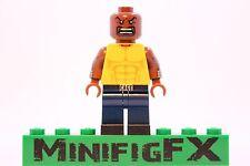 Lego LUKE CAGE Custom Minifig Marvel Superhero Power Man Netflix Defenders