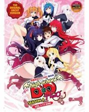 High School DxD (Season 4) DVD (Vol. : 1 to 13 end) with English Dubbed