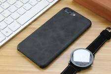 Genuine Original PU Leather Thin Slim Case Cover Apple iPhone 10 X 8 7 Plus 6s 5