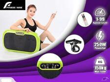 Ultra Slim Vibration Fitness Machine Body Shaper Platform 3rd Gen -Red Only