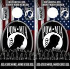 Cornhole Board Wrap POW US Veteran American Flag Honoring Military Prisoners 02