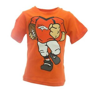 Denver Broncos Official NFL Apparel Infant Toddler Size T-Shirt New with Tags