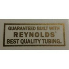 REYNOLDS tubing transfer.