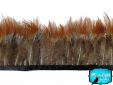 Pheasant Feathers 1 Yard Yellow Ringneck Pheasant Feather Trim