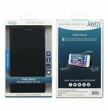 Cover Case Folio Stand Jaym for Huawei Matt 10 Lite Black