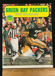 1970 FOOTBALL NFL GREEN BAY PACKERS YEARBOOK 2221